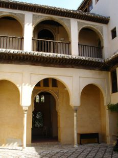 Palacio de dar-al-horra, patio interior