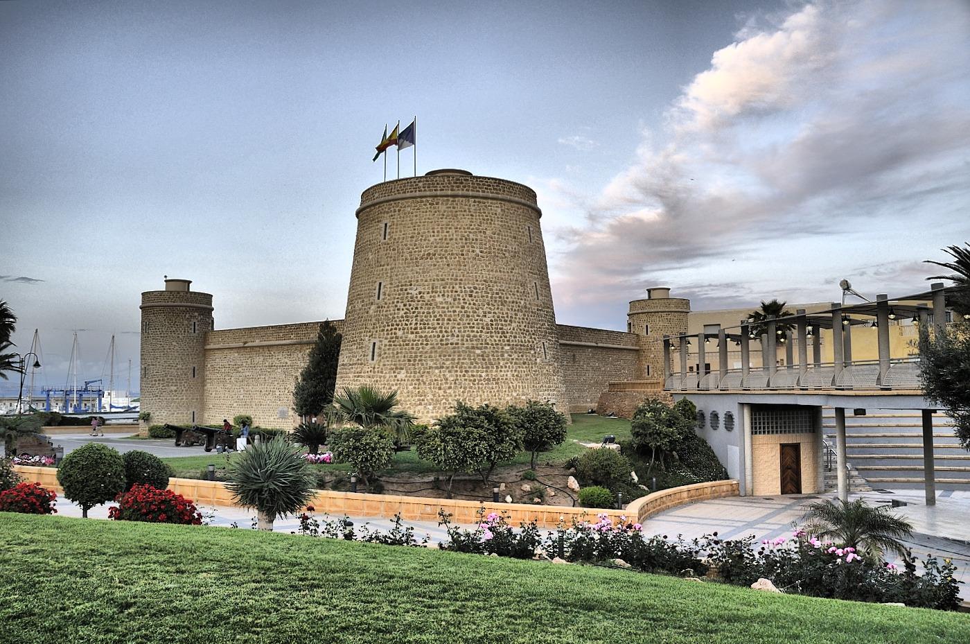 Castillo De Santa Ana Roquetas De Mar Fotos De Granadinos Por El  # Muebles Roquetas De Mar