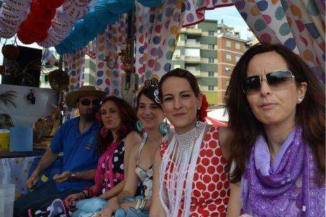 Cruces Itinerantes en Motril 2011 LA CAÑA DE ESPAÑA