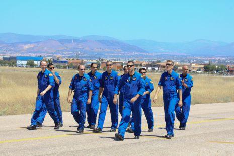 Los pilotos Aspa