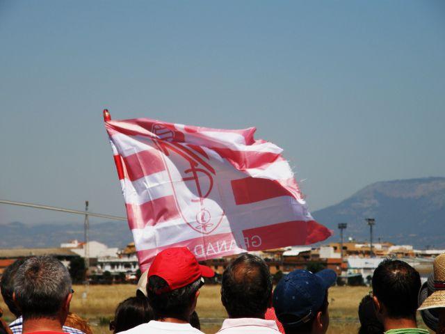 Bandera en los aires