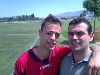 dani y yo en ANTONIO SANCHEZ