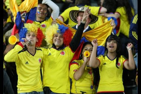 celebracion de futbol
