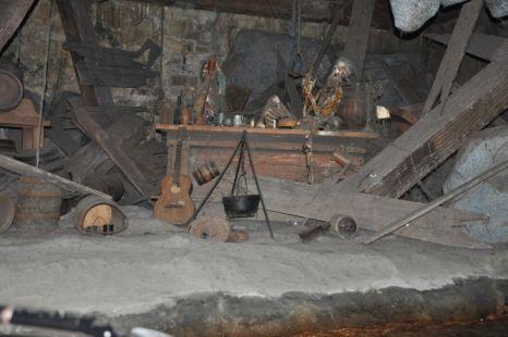 Cueva pirata eurodisney 3