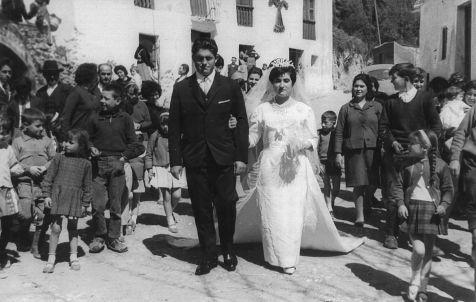 Soportújar, Boda de José y María Luisa.