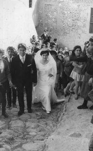 Soport�jar, Jos� y Luisa y cortejo 1964