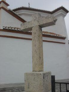 Cruz antigua ,situada en la Hermita de SAN SEBASTIAN ,Orgiva Gr.
