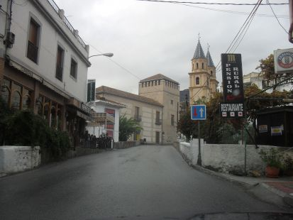 Una calle de Orgiva , gr.