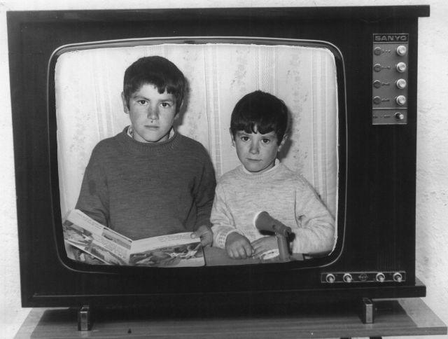 Soportújar, Pepe y Juan Samos 1970