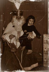 yo,juan jose palomares ariza por el año 1979 cogido por un rey mago en granada