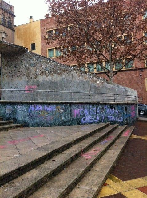 Degradación de la Plaza del Ayuntamiento
