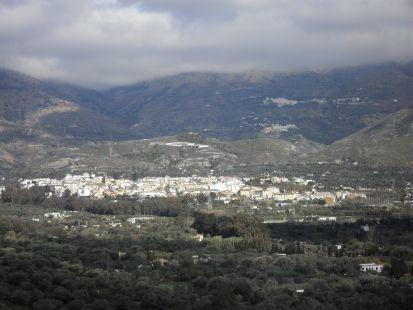 ORGIVA ,VISTA   DESDE LA SIERRA