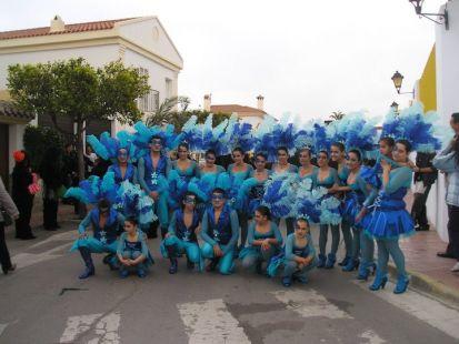 carnaval de vera peña ninfas