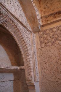 Ornamentación del Torreón nazarí de Gabia