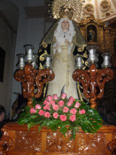 Virgen de los dolores orgiva