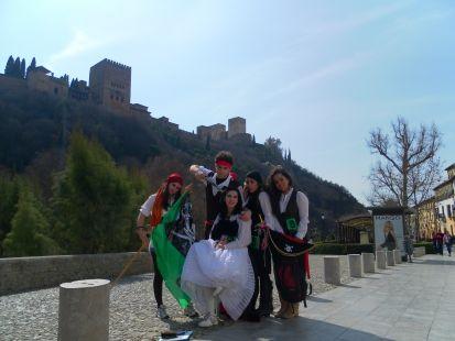 A-bordar Granada
