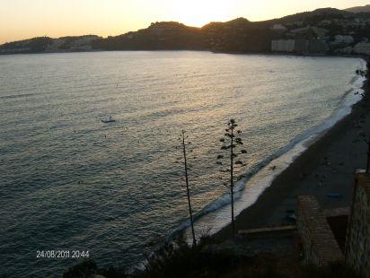 Playa de San Cristobal vista desde el Peñon del Santo