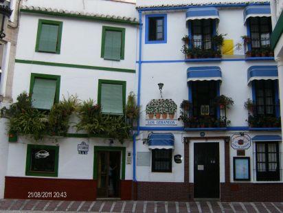 Plaza de la rosa  casco antiguo de Almuñecar
