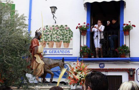 La Burriquita por las calles de Almuñecar 4