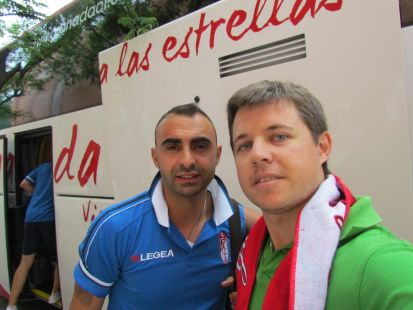 Con Martins en Atocha