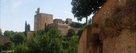 La Torre la Vela desde Torres Bermejas.