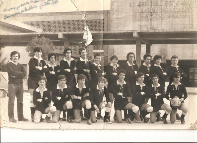 RUGBY equipo arquitectura tecnica 1977