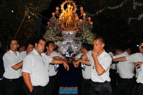 Procesión de la Virgen. Gabia
