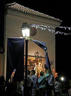 La Virgen de las Nieves en Procesión