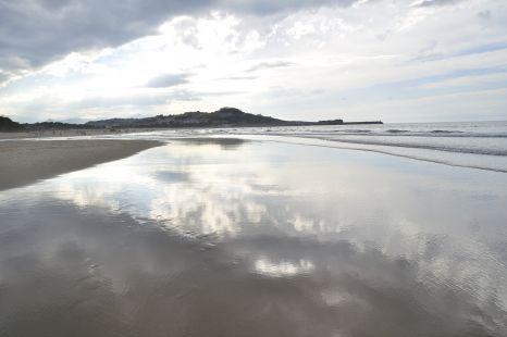 Espejo en la arena