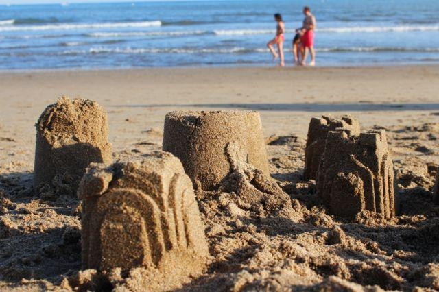 Castillos frente a la marea