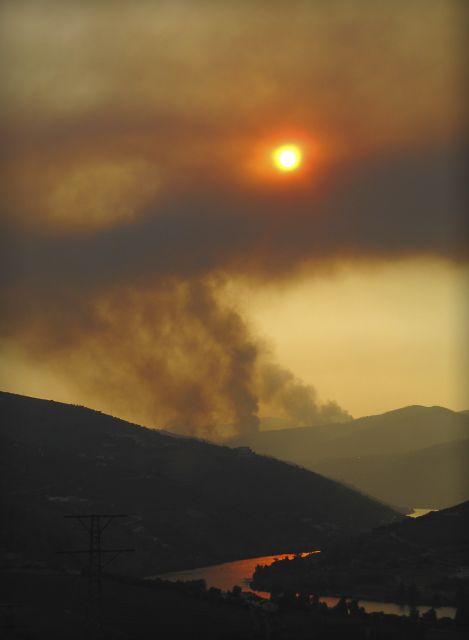 Fuego sobre el Duero