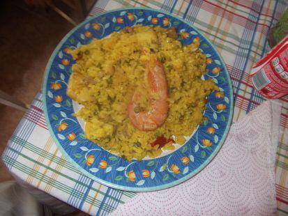 plato de paella