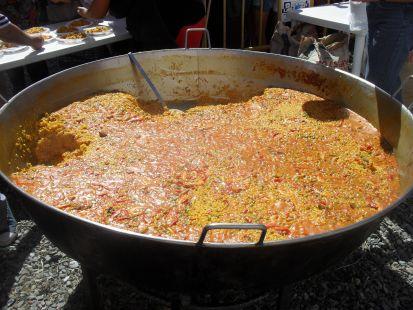 Hermosa paella feria orgiva 2012