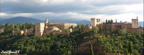 La Alhambra desde San Nicolas