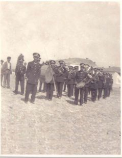 banda de música de Gabia años 50