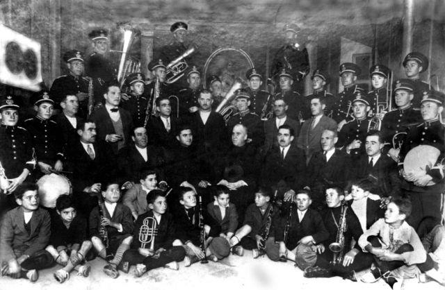 Banda de música de 1898 Gabia la Grande