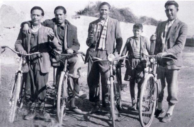 Gabirros con bicicletas