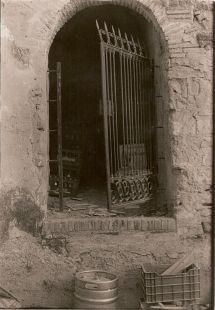 Torreón antes de su rehabilitación