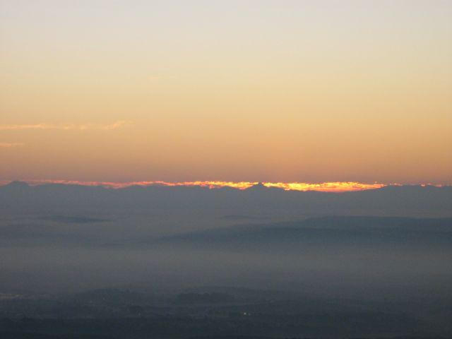 Sierra Nevada, desde Córdoba.