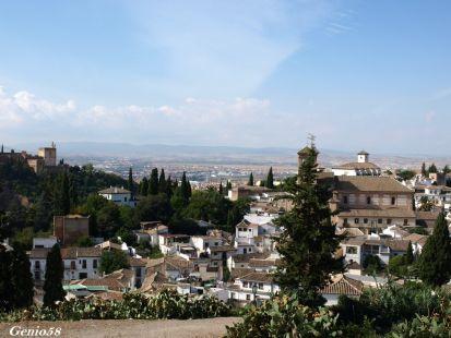 El Alcazar y el Albaycin