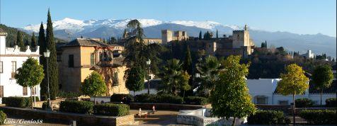 La Alhambra desde el Huerto del  Carlos