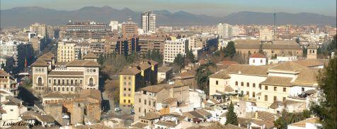Granada desde la Cuesta de la Lona