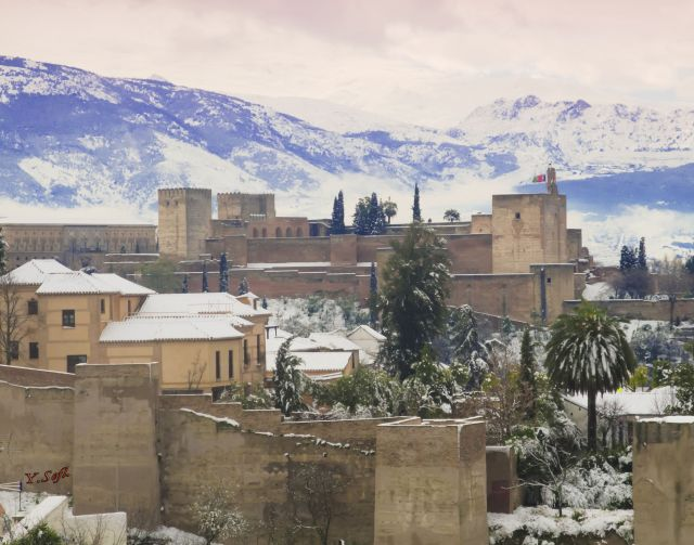 Alhambra and Snow