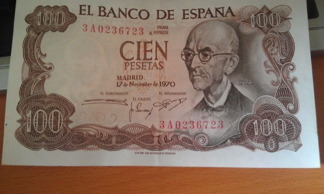 Cien Pesetas
