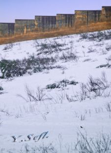 Le mur et la neige