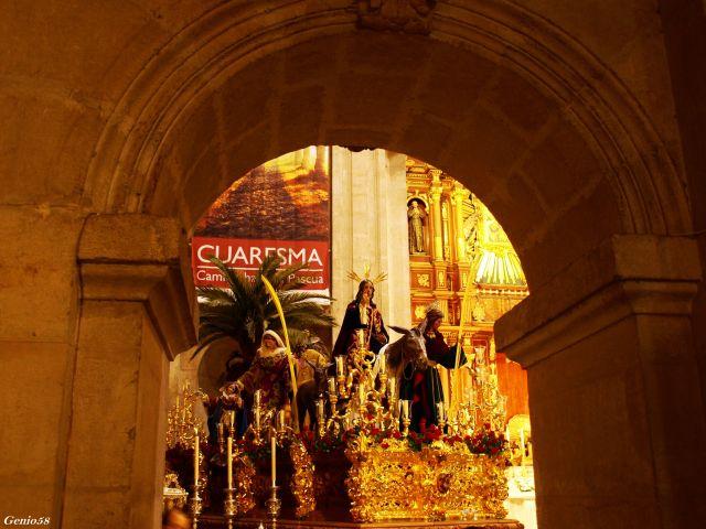 La Borriquilla en su templo