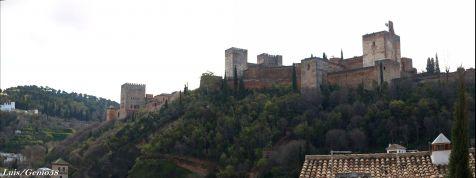 La Alhambra desde la Plceta Carvajales