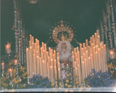 semana santa  1994 almuñ