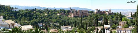 Panoramica entorno de la Alhambra