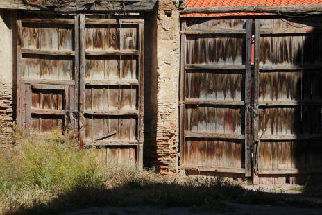 Portones de madera antiguos